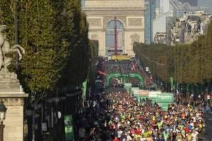 Rotich und Memuye gewinnen Marathon in Paris