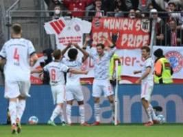 Bundesliga: Bayern stürmt mit 5:1 zurück an die Spitze