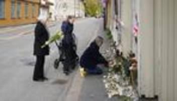 anschlag in norwegen: angreifer von kongsberg tötete mutmaßlich mit stichwaffen