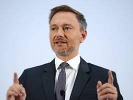 ab jetzt wird wieder geschwiegen: lindner erklärt debatten für beendet