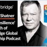 william shatner eröffnet die global leadership podcast series 'unlocking resilience', die ab heute verfügbar ist