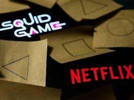 viel mehr nutzer als erwartet: netflix wächst dank squid game kräftig