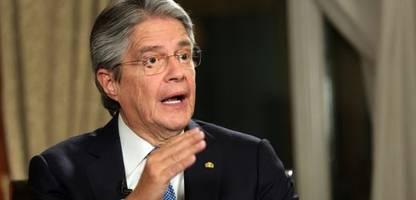ecuador: staatschef ruft ausnahmezustand aus im kampf gegen drogenhändler