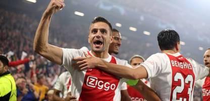 Champions League: Borussia Dortmund geht bei Ajax Amsterdam unter, Lionel Messi trifft doppelt gegen RB Leipzig