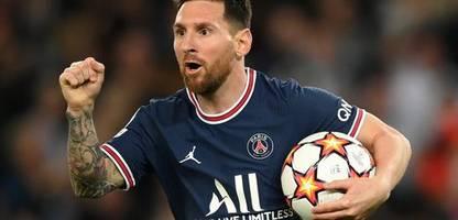 Champions League: Lionel Messi trifft doppelt für Paris Saint-Germain gegen RB Leipzig