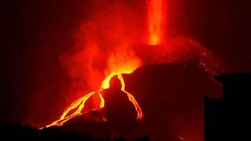 naturkatastrophe - ein monat vulkanausbruch auf la palma: kein ende in sicht
