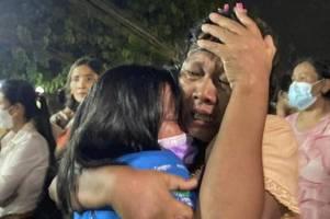militärjunta in myanmar lässt 5600 gefangene frei