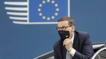 EU-Parlamentsdebatte zu Polen: Morawiecki stellt sich