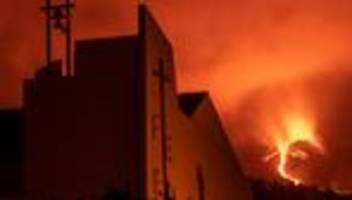 Vulkanausbruch: Lavastöme bedrohen weitere Gemeinde auf La Palma