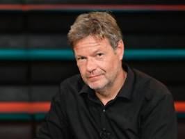 Robert Habeck bei Markus Lanz: Werden in eine neue Welt hineinwachsen