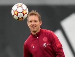 Trainer ist nicht mal im Stadion: Nagelsmann fehlt dem FC Bayern in Lissabon