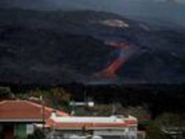 Lava auf La Palma bedroht Gemeinde La Laguna