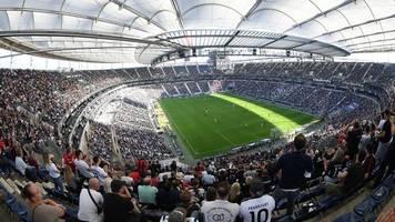 bundesliga: eintracht darf gegen rb leipzig das stadion komplett füllen