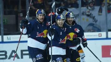 EHC Red Bull München in Champions League in der Schweiz