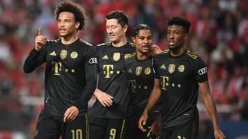 Champions League - Bayern in der Einzelkritik: Sané, Coman und Neuer mit Note 1 gegen Benfica