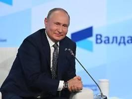 Bei Freigabe von Nord Stream 2: Putin verspricht zügige Gaslieferungen