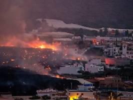 jeder zehnte bewohner evakuiert: lava auf la palma vertreibt erneut hunderte
