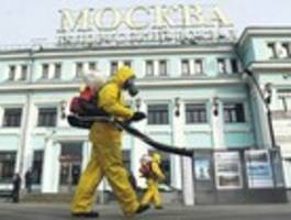 russland geht in quarantäne