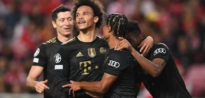 Champions-League-Sieg vom FC Bayern München gegen Benfica: Der Vier-Minuten-Wirbelsturm