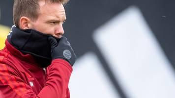 Champions League: Positiver Corona-Test bei Bayern-Trainer Nagelsmann