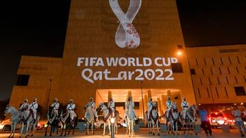 Weltmeisterschaft: Auslosung für Fußball-WM in Katar am 1. April 2022