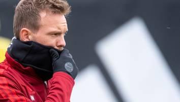 Bayern-Trainer fällt vorerst aus - Positiver Corona-Test bei Julian Nagelsmann