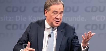 armin laschet reicht montag rücktritt als ministerpräsident von nordrhein-westfalen ein