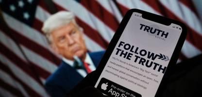 Donald-Trump-Fans treiben Aktienkurs von möglicher »Truth Social«-Firma