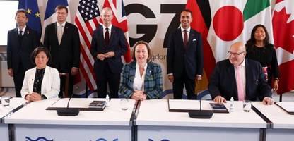 London: G7 einigen sich auf Regeln für Digitalhandel