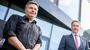 Habeck gegen Lindner: Grüne und FDP ringen um Finanzministerium