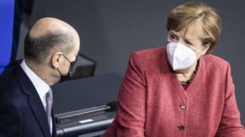 Angela Merkel über Olaf Scholz als Kanzler: Ich kann ruhig schlafen