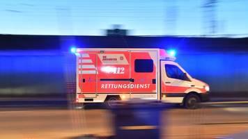 kinder stürzen drei meter tief: schwer verletzt