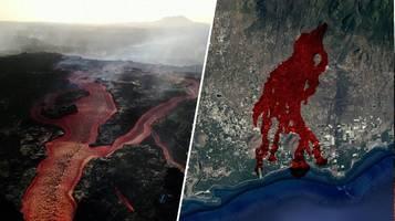 La Palma: Animation zeigt Ausmaß der Zerstörung