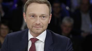 maybritt illner: lindner warnt vor geburtsfehler einer neuen koalition