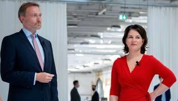 Kommentar von Hugo Müller-Vogg - Stratege Lindner und Taktiererin Baerbock im Duett: Beim Geld hört der Spaß auf