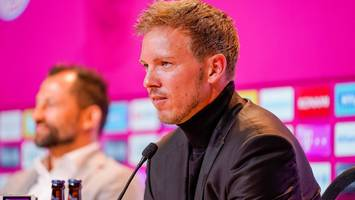 pressekonferenz des fc bayern - live-ticker: nagelsmann spricht offenbar aus quarantäne