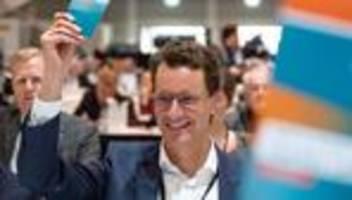 NRW-CDU: CDU in Nordrhein-Westfalen wählt Hendrik Wüst zum neuen Vorsitzenden