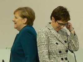 Die CDU auf Personalsuche: Merkel will mehr Frauen in Parteiführung