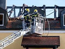 feuer in niederbayern: drei frauen und ein baby sterben in brennendem haus