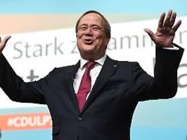 NRW-CDU wählt Nachfolger: Laschet ist das erste seiner Ämter los