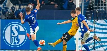 2. fußball-bundesliga: fc schalke 04 besiegt dynamo dresden