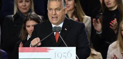 ungarn: viktor orbán schwört seine anhänger auf anti-eu-wahlkampf ein