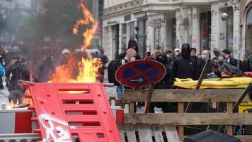 Einsatz in Leipzig: Bislang keine Verstöße gegen Demo-Verbot