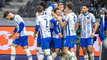 Hertha findet aus Krise: 1:0 verdirbt Gladbachs Pokal-Probe