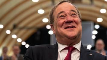 CDU-Chef Laschet redet das Wahlergebnis schön: Tassen im Schrank lassen