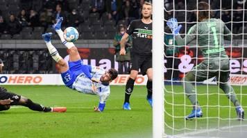 Bundesliga: Hertha BSC ärgert Gladbach – Berliner überholen Borussia