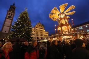 Der Augsburger Christkindlesmarkt muss wieder stattfinden - doch wie?