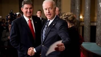 joe manchin - er wirkt wie ein republikaner: wie einzelner senator bidens klimaschutz-pläne sabotiert