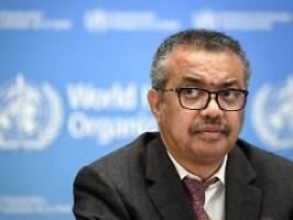 Mehr Engagement gefordert: WHO: Welt bestimmt Pandemie-Ende selbst
