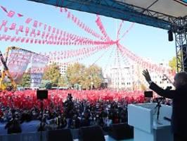 Rede empört deutsche Politiker: Erdogan zündet neue Eskalationsstufe